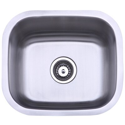 13.88 x 13.5 Undermount Single Bowl Kitchen Sink