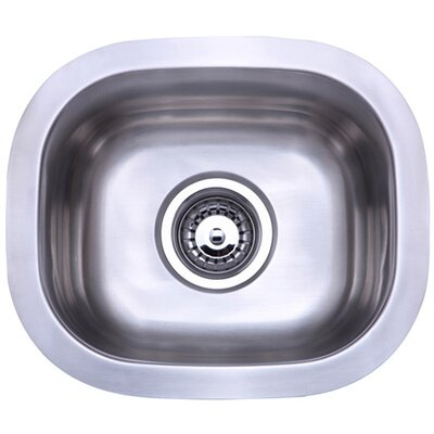 14.25 x 12.25 Undermount Single Bowl Kitchen Sink