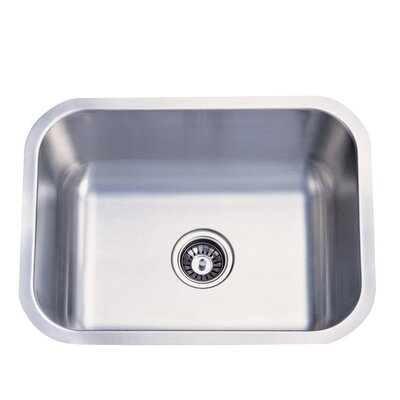 23 x 17.75 x 9 Undermount Single Bowl Kitchen Sink