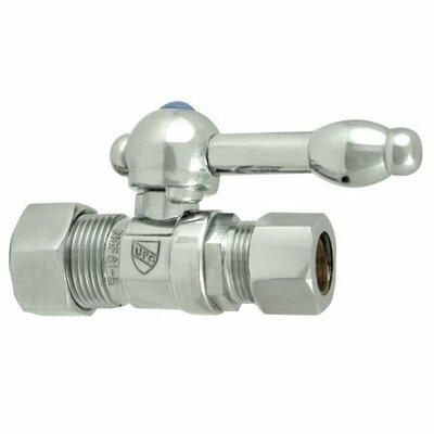 Quarter Single hole Single Handle Bathroom Faucet Finish: Polished Chrome