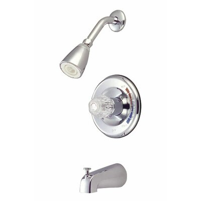 Volume Control Tub and Shower Faucet