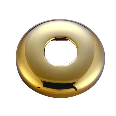 Hot Springs Shower Flange Finish: Polished Brass
