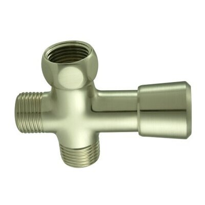 Shower Diverter Finish: Satin Nickel