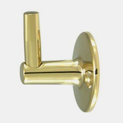 Pin Wall Bracket Finish: Polished Brass