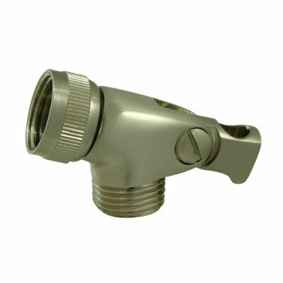 Brass Swivel Connector Finish: Satin Nickel