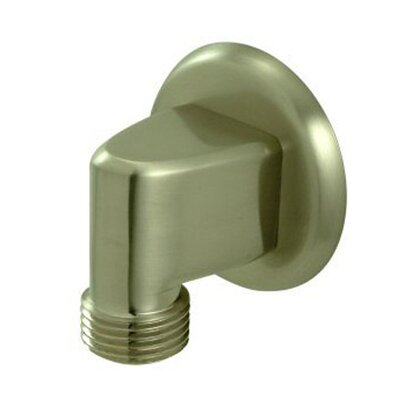 Brass Supply Elbow Finish: Satin Nickel