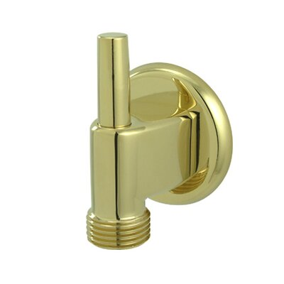 Brass Supply Elbow with Pin Finish: Polished Brass