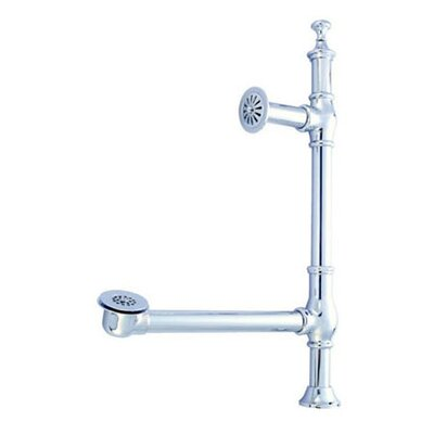 Vintage Accents British Lever Style Tub Drain Finish: Chrome