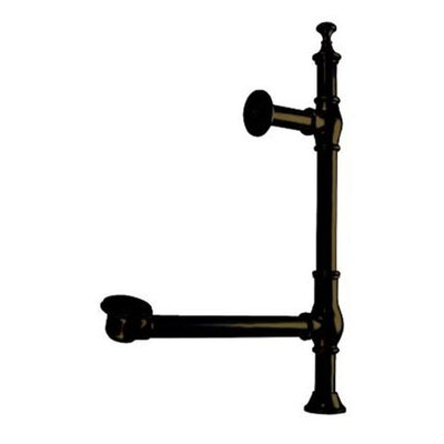 Vintage Accents British Lever Style Tub Drain Finish: Dark Bronze