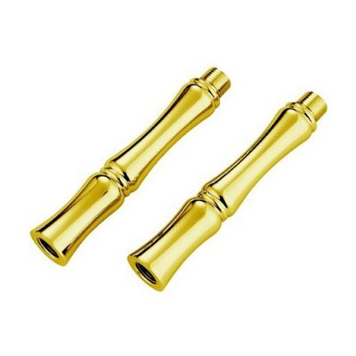 Vintage Optional Extension For Water Supply Finish: Polished Brass