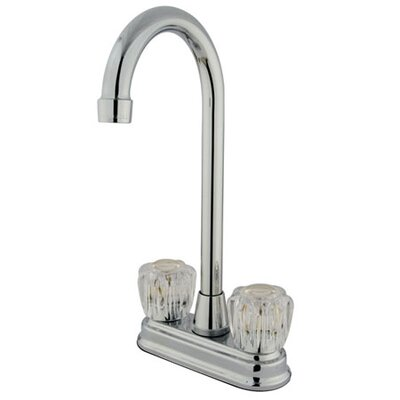 Magellan Double Handle Centerset Bar Faucet with Acrylic Knob Handles