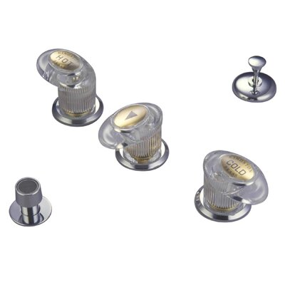 Triple Triple Handle Vertical Spray Bidet Faucet Finish: Satin Nickel