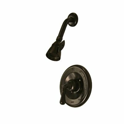 St. Charles Pressure Balanced Volume Control Shower Faucet Finish: Oil Rubbed Bronze