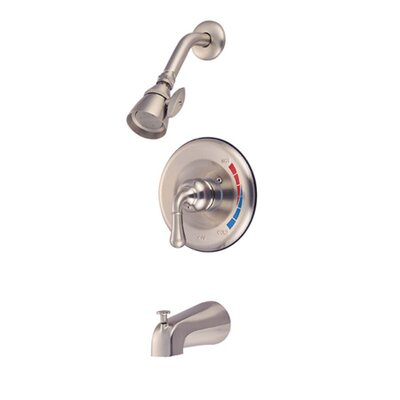 St. Charles Volume Control Tub and Shower Faucet Trim Finish: Satin Nickel