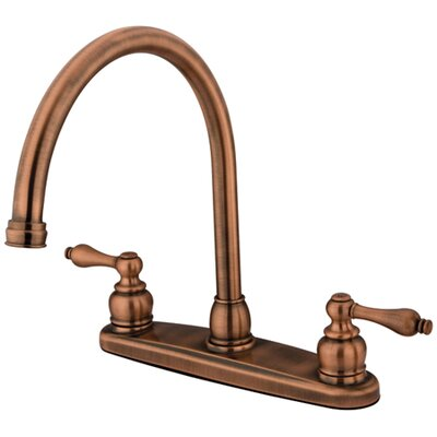 Victorian Hot & Cold Water Dispenser Finish: Antique Copper