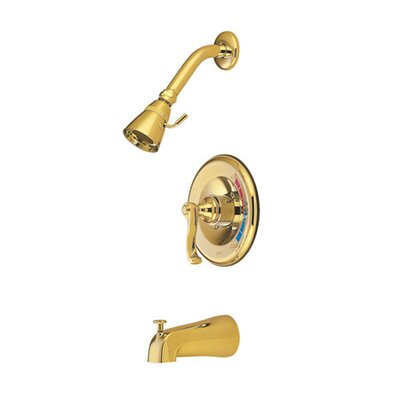 Royal Trim Kit with French Lever Handles Finish: Polished Brass