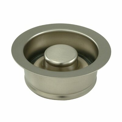 Garbage Disposal Flange Finish: Satin Nickel