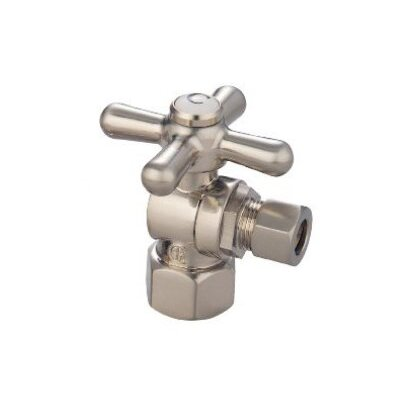 Decorative Quarter Turn Valves Finish: Satin Nickel