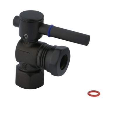 South Beach Angle Stop Valve Finish: Oil Rubbed Bronze