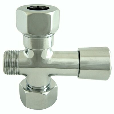 Hot Springs Shower Diverter Finish: Chrome
