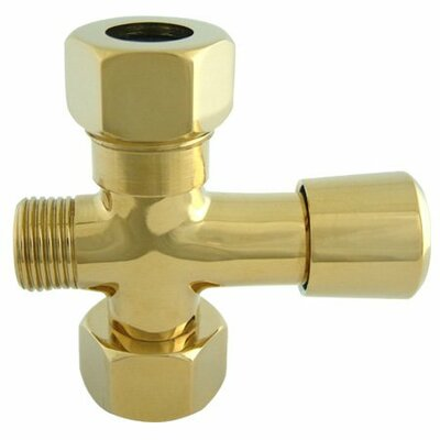 Hot Springs Shower Diverter Finish: Polished Brass