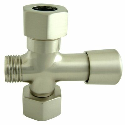 Hot Springs Shower Diverter Finish: Satin Nickel