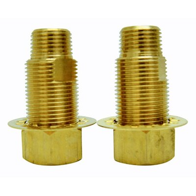 Hot Springs Adaptor Finish: Polished Brass