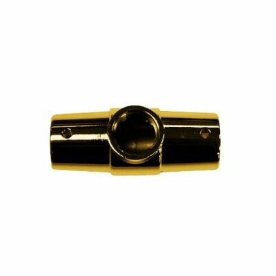 3 Hole Shower Ring Connector Finish: Polished Brass