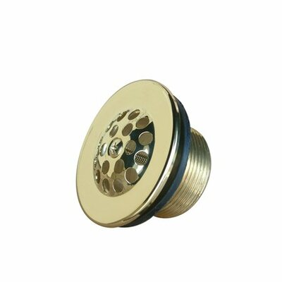 Stamp 2.88 Grid Shower Drain Finish: Polished Brass