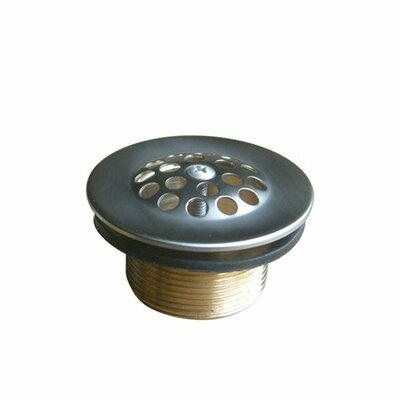Stamp 1.5 Grid Shower Drain Finish: Oil Rubbed Bronze
