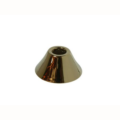 Decorative Bell Flange Finish: Polished Brass