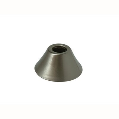 Decorative Bell Flange Finish: Satin Nickel
