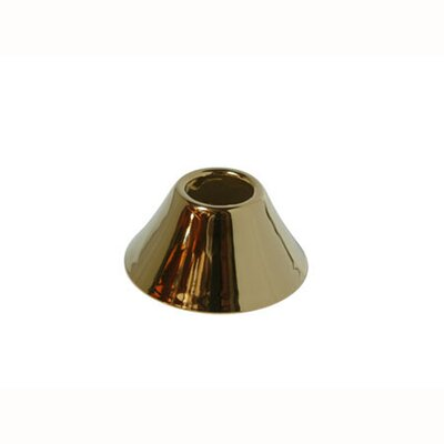 Solid Brass Decorative Bell Flange Finish: Polished Brass