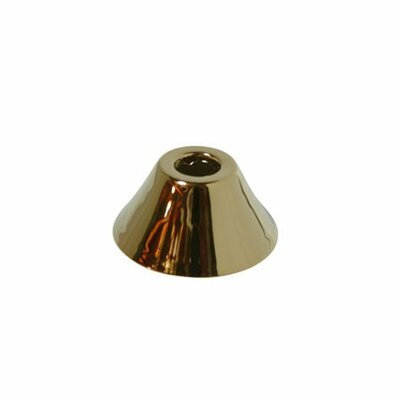 Decorative Escutcheon Bell Flange Finish: Polished Brass