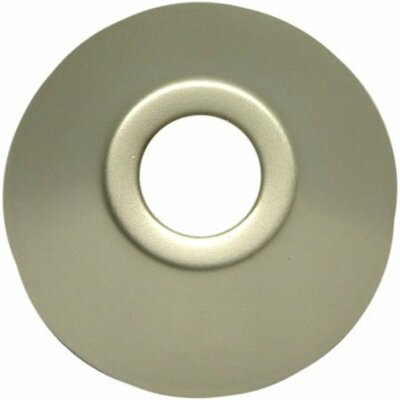 Decorative Escutcheon Bell Flange Finish: Satin Nickel