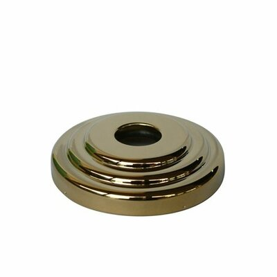 Decorative Escutcheon Finish: Polished Brass