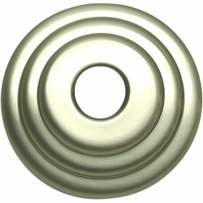 Brass Decorative Escutcheon Finish: Satin Nickel