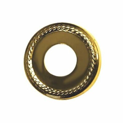 Accents Decorative Escutcheon Finish: Polished Brass