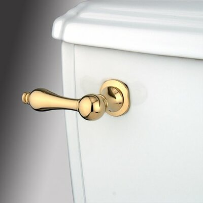 Decorative Metal Tank Lever Arm Finish: Polished Brass