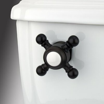 Decorative Buckingham Cross Handle Tank Lever Arm Finish: Oil Rubbed Bronze