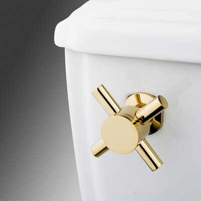 South Beach Toilet Tank Lever Finish: Polished Brass