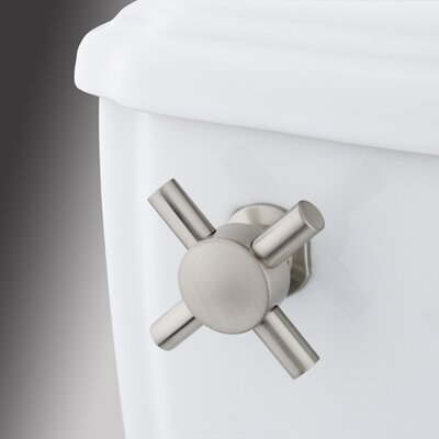 South Beach Toilet Tank Lever Finish: Satin Nickel