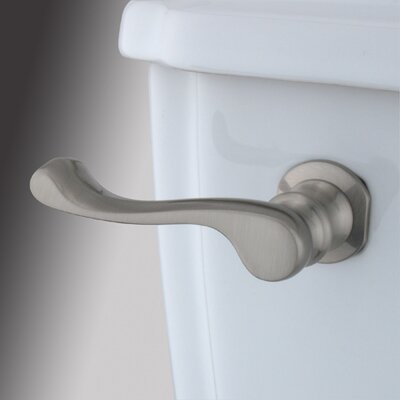 Decorative French Tank Lever Arm Finish: Satin Nickel