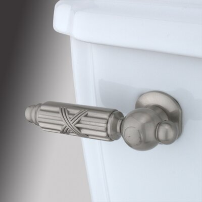 Decorative Georgian Tank Lever Finish: Satin Nickel