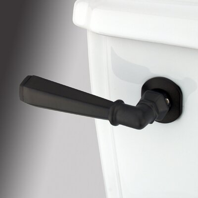 Decorative Hex Tank Lever Arm Finish: Oil Rubbed Bronze