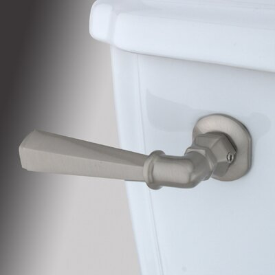 Decorative Hex Tank Lever Arm Finish: Satin Nickel