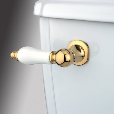 Made to Match Decorative Porcelain Tank Lever Arm Finish: Polished Brass
