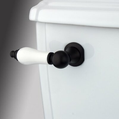 Made to Match Decorative Porcelain Tank Lever Arm Finish: Oil Rubbed Bronze