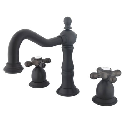 Baltimore Widespread Bathroom Faucet with Double Cross Handles Finish: Oil Rubbed Bronze