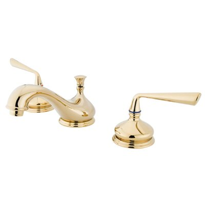 Copenhagen Double Handle Widespread Bathroom Faucet Finish: Polished Brass